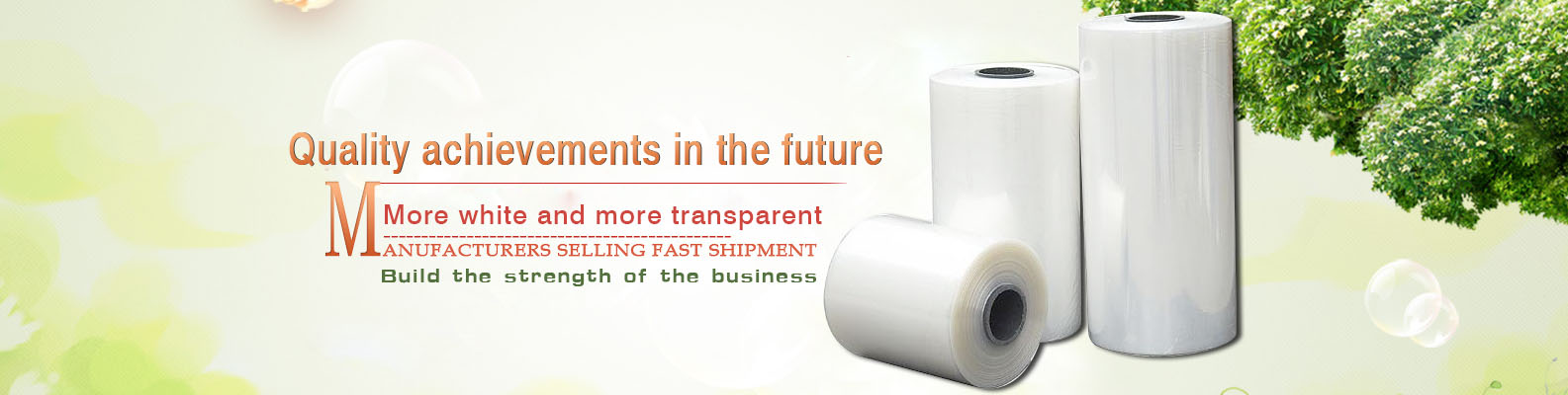 More white and more transparent manufacturers selling fast shipment build the strength of the business